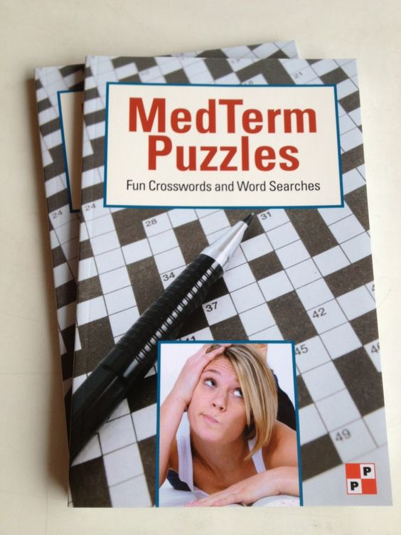 med term puzzles book cover