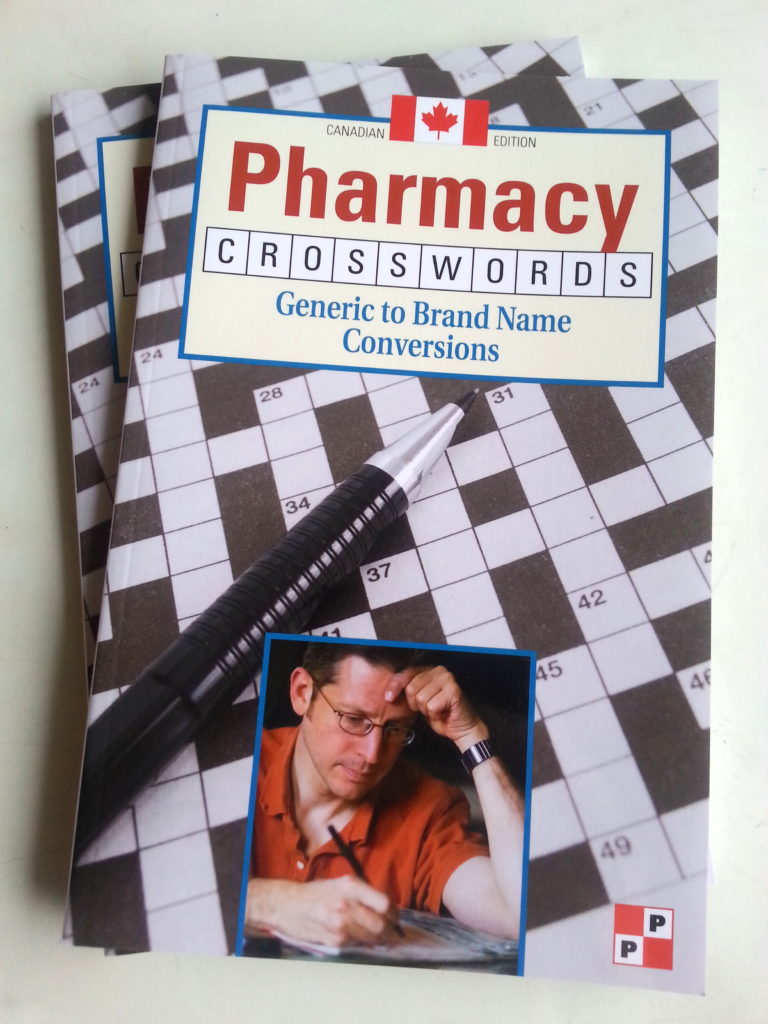 Pharmacy Crosswords: Generic to Brand Name Conversions Book Cover