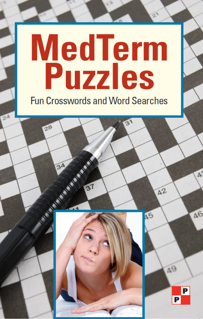 Med Term Puzzles: Fun Crosswords and Word Searches. Medical Terminology puzzles