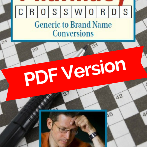 Pharmacy Crosswords Canadian Edition PDF version Cover photo