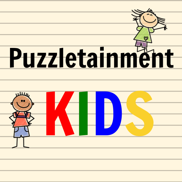 Puzzletainment has free printable word search puzzles for kids and other word games for kids like kids crosswords.