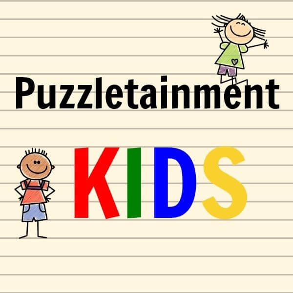Puzzletainment Kids - word search puzzles for kids and crosswords for kids
