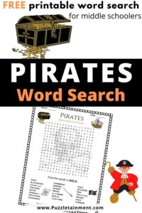 pirates word search